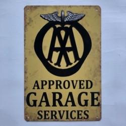 Approved garage