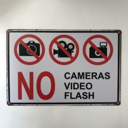 No flash