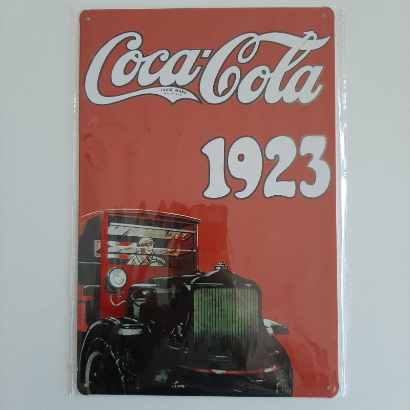 plaque métal décoration vintage Bar  boisson coca cola