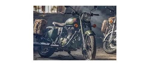 Plaques métal vintage décoration moto