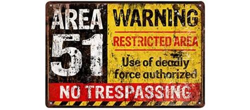Plaques métal vintage décoration panneaux d'avertissement