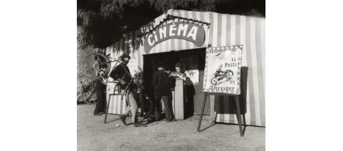 Plaques métal vintage décoration cinéma
