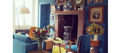 Plaques métal vintage décoration home