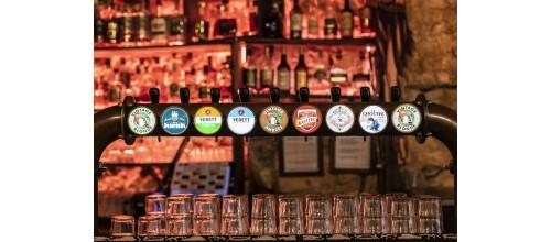 Plaque métal vintage décoration Bières