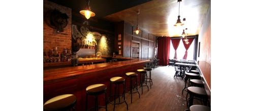 Plaque métal vintage décoration Bar
