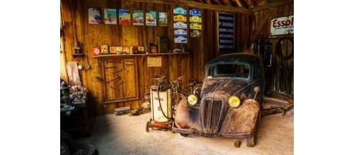 Plaque métal publicitaire vintage décoration garage